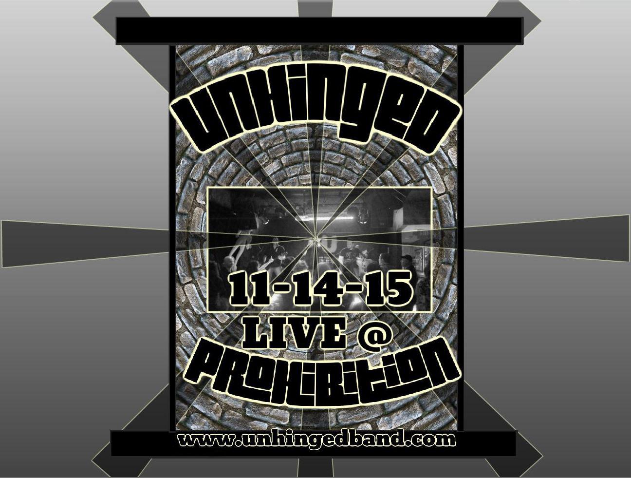 PROHIBITION - 11.14.15