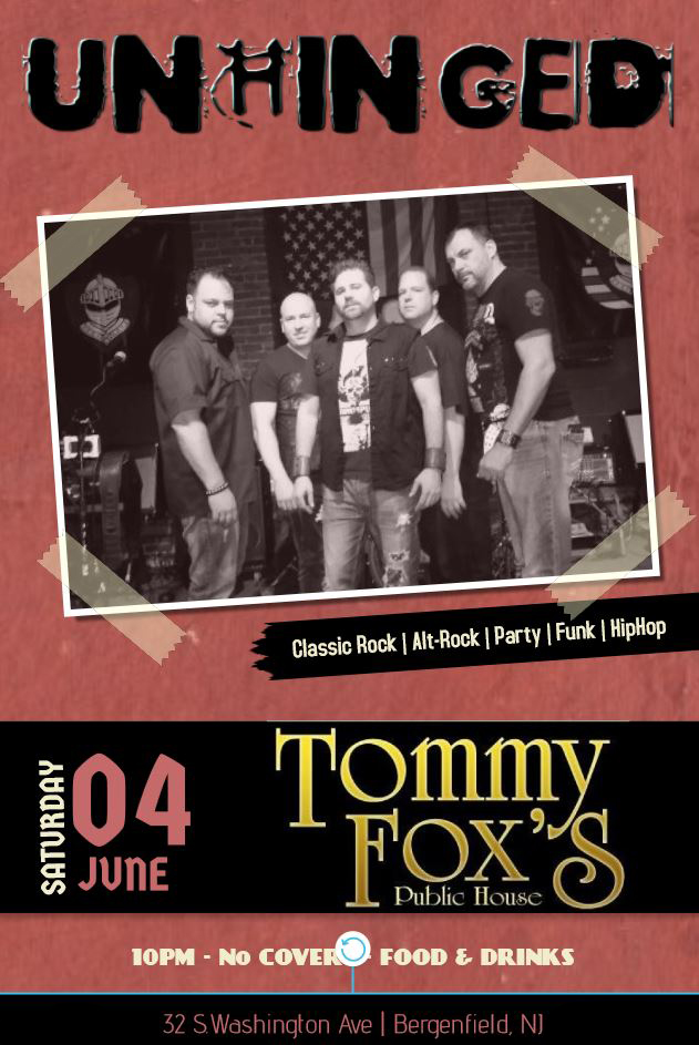 Tommy Foxs, Unhinged