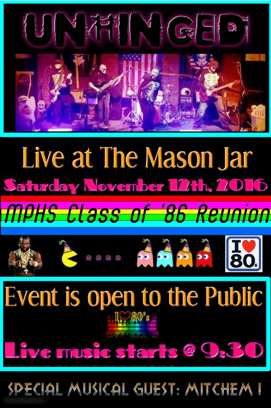 MPHS Class of '86 Reunion - Billie Jean Cover 11.12.2016